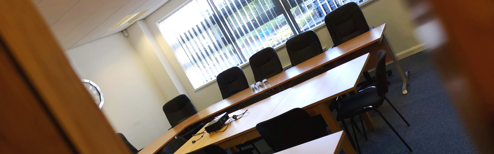 Durham Suite conference room at Durham Office Services